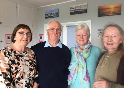 WBTS Launch Committee Members Therese Burke, Derek Burke, Mary Byrne, Pat Dunne (Large)