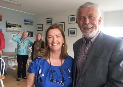 WBTS Launch Lucy Moore (Chairperson) & Jim Moore (Large)