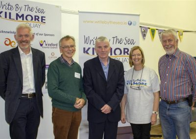 WBTS2018 - Dr Richard Hayes,Prof Willie Donnelly, Jim Nolan, Lucy Moore, Jim Moore