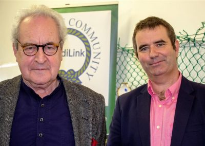 WBTS2018 - Saturday John Banville, Derek Hand