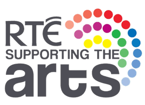 RTÉ Supporting the Arts logo