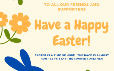 Happy Easter from Write by the Sea